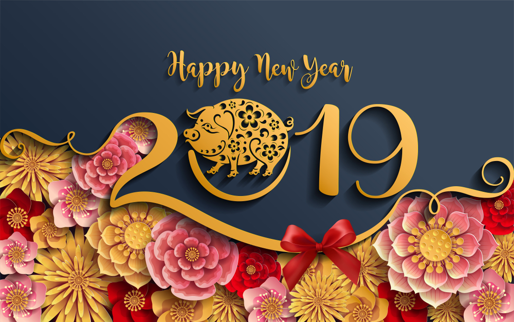 Tiệc mừng năm mới 2019